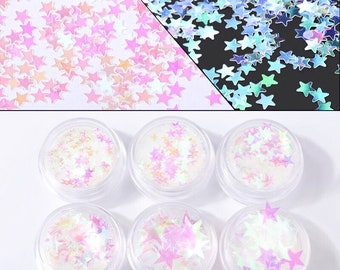 LIMITED QUANTITIES: Star Glitter set- jewelry/resin making