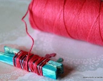Twine Baker's Twine fine - fuschia pink - 10 m ep.1mm