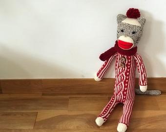 Sock Plush Cat