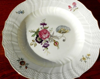 Royal Copenhagen, Frijsenborg, Porcelain Soup, Hand Decorated
