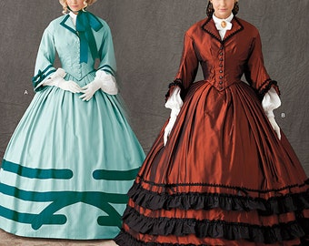 OUT of PRINT Simplicity Pattern 1818 Misses' Costume: