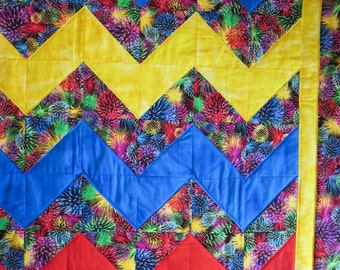 Firework Lap or Wall Quilt
