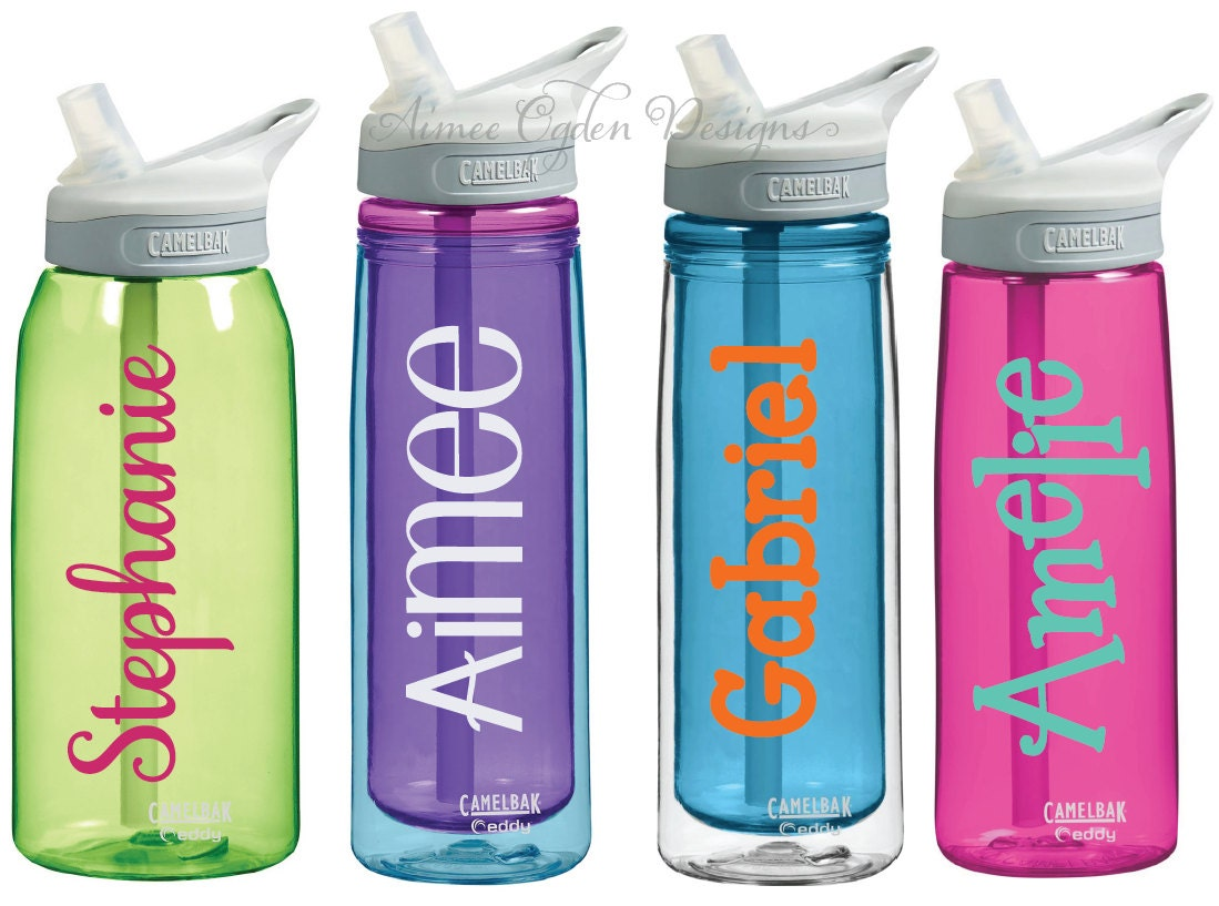 Diy Personalized Camelbak Decal Name Vinyl Waterproof Sticker
