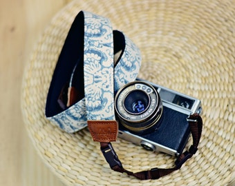 Lake Damask Camera Strap suits for DSLR / SLR with Quick Release Buckles