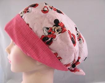 Women's Pixie Scrub Hat Minnie Mouse