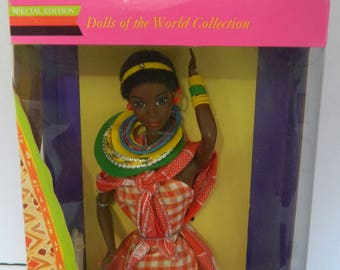 Kenya Barbie Dolls of the World Collection Mattel 1993 Special Edition NRFB