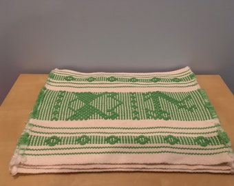 Set of Four Bohemian Handwoven Placemats- Guatemala/Mexico