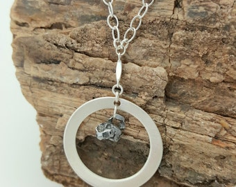Graduation Gifts | Meteorite Necklace | Y Necklace | Moon Necklace | Bridesmaids Jewelry | Meteorites | Mother's Day Gift | Science Gifts