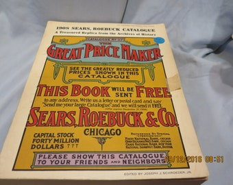Sears, Roebuck & Co. 1908 Catalogue No. 117, The Great Price Maker Paperback – 1971