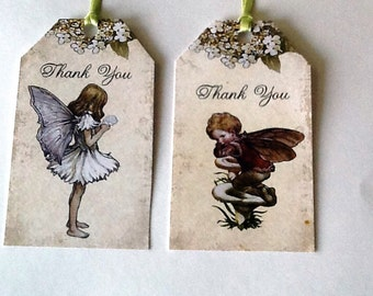 10 Fairy Thank You Tags