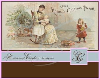 Large Vintage Ephemera Digital Image #59 ~ Instant Download