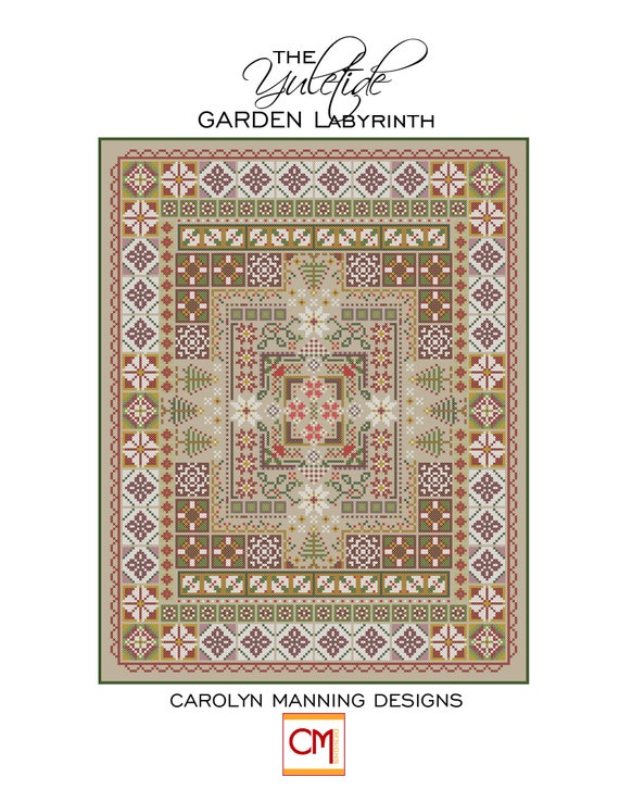 The Yuletide Garden Labyrinth Cross Sch PDF Pattern on labyrinth quilt design, labyrinth embroidery designs, labyrinth quilt pattern, easy quilt block patterns, labyrinth walkway and patterns, charm pack quilt patterns, easy labyrinth patterns, labyrinth tattoo designs, labyrinth walk, labyrinth designs easy, labyrinth seed patterns, labyrinth garden designs, labyrinth as meditation, greek labyrinth patterns, labyrinth designs square, labyrinth path, crochet blanket patterns,