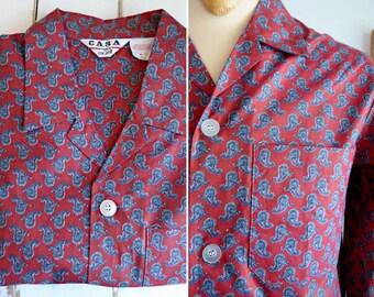 Mint condition paisley cotton man pyjamas