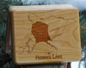 River Map Fly Box - HENRY...