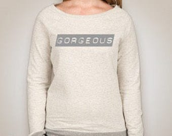The Gorgeous Lady Sweater Tee