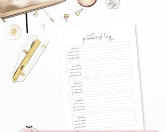 """PASSWORD LOG PAGE 