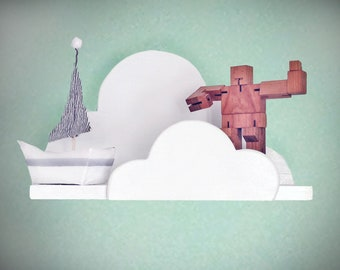 Cloud Wall Shelf- Medium