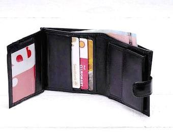 Leather wallet Men's leather wallet Leather purse wallet Leather trifold wallet Leather billfold Bifold wallet Leather coin purse