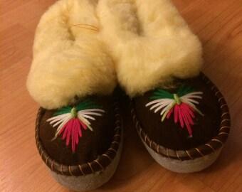 Ladies Sheepskin Sleepers