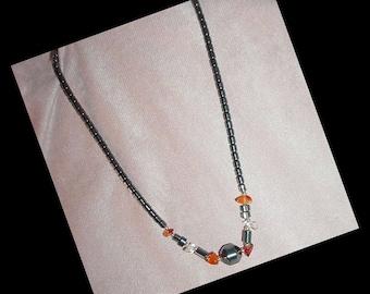 Hematite Choker Necklace
