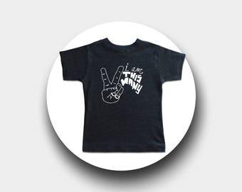 I Am This Many Kids Birthday Shirt - 1 through 5  - Graphic Tee - Funny Third Birthday Shirt - Baby & Toddler Kids Birthday - I'm This Many