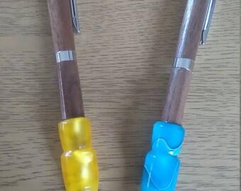 Dark souls inspired flask pens