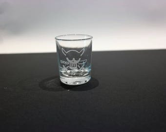 Glass shot One Piece - Zoro