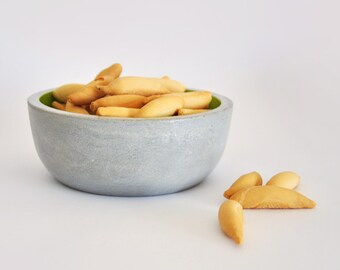 Small fruit bowl | Modern Concrete Bowl | Individual salad bowl | Cereal bowl | Fruit Bowl | Jewelry box