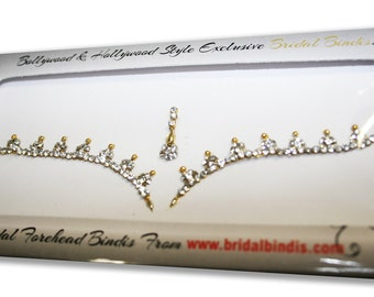 Bridal Bindi Rhinestone Crystal Bindis for Third Eye.