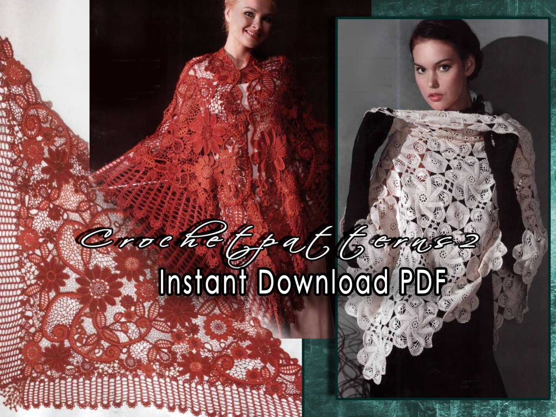 Instant Download PDF ebook crochet patterns. Women\'s