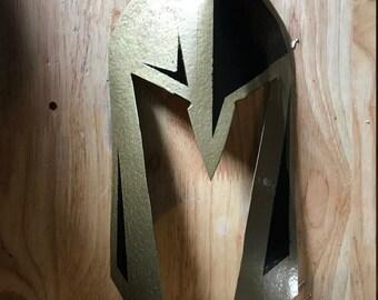 Golden Knight steel mask