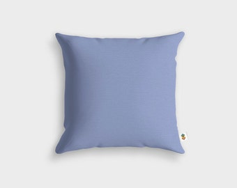 Basic SERENITY blue pillow - Made in France - 45 x 45 cm