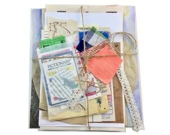 Journaling Supplies, Ephemera, Junk Journal, Embellishments, Scrapbooking, Die Cuts, Scrapbook Kit, Ephemera Pack, Vintage Ephemera