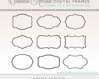 Scrapbook Frame Shapes