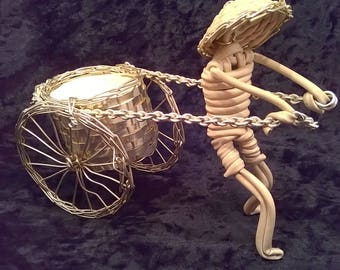 1950s RICKSHAW ORNAMENT