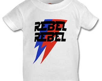 Rebel Rebel Star Wars vs Bowie T-Shirt