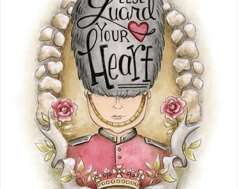 The Royal Guard Scripture Art Print