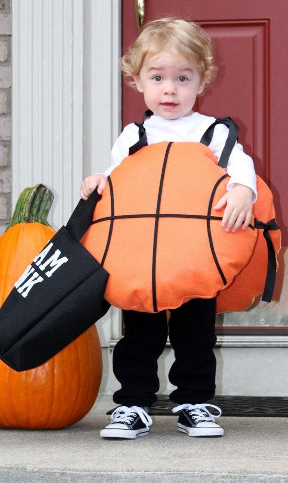sc 1 st  Etsy & Toddler Halloween Costume Basketball w/ Slam Dunk treat bag