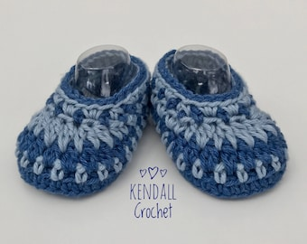 Galilee Crochet Booties Newborn