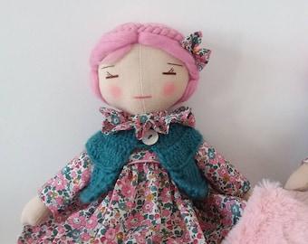 Adele linen doll.