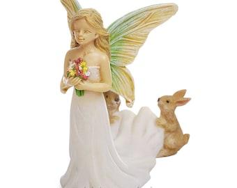 Fairy Bride for Miniature Garden, Fairy Garden