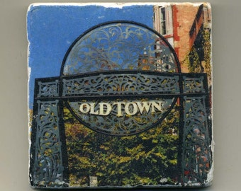 Old Town - Original Coaster