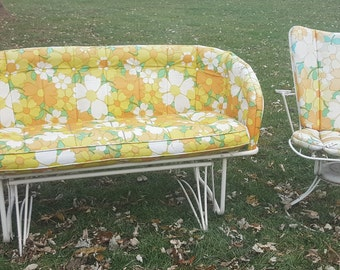 Vintage outdoor patio furniture | Etsy