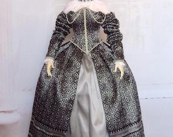 "HID Iple - ""Queen Margo"" Elizabethan Renaissance court dress"