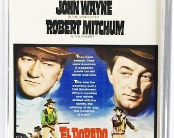 El Dorado John Wayne Robert Mitchum Charlene Holt movie poster Fridge Magnet & Jumbo Keyring V1 - New