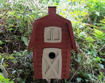 Country  Barn Birdhouse