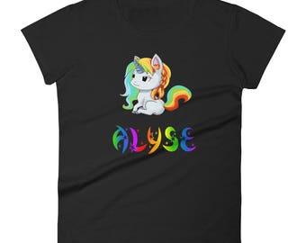 Alyse Unicorn Ladies T-Shirt