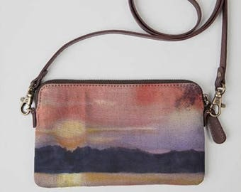 Sunset statement tote
