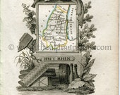 1823 Perrot Map of Haut-R...