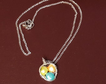 Freshwater Pearl Necklace Birds Nest